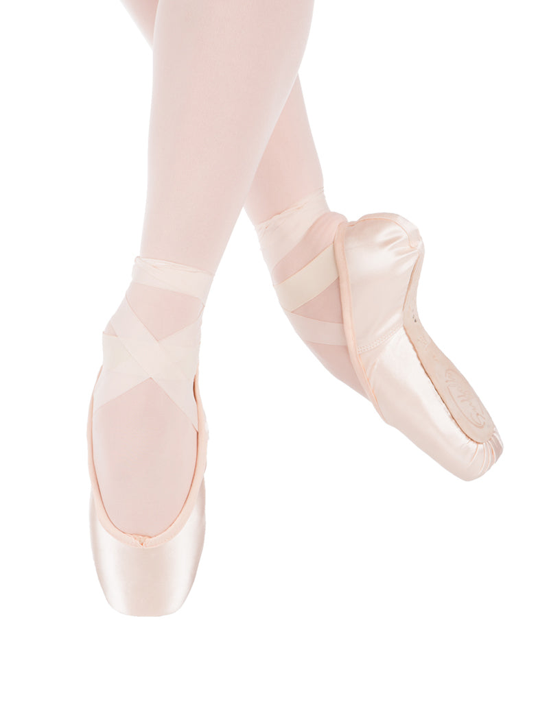 Spotlight Pink Hard Insole Pointe Shoe