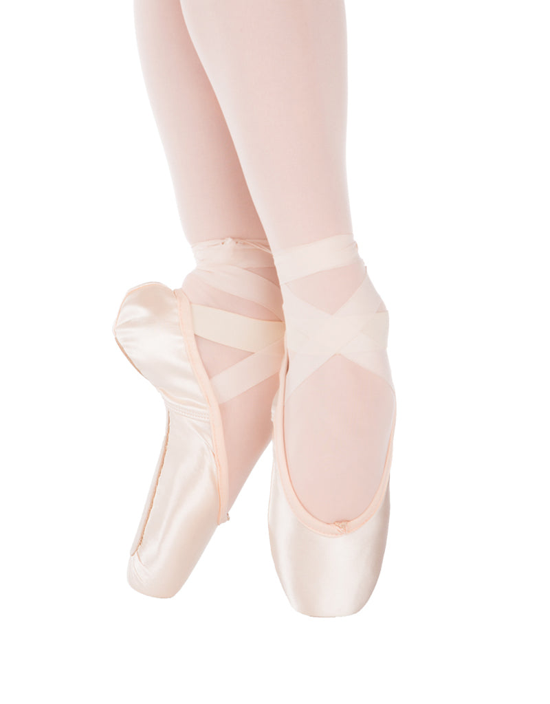 Status Pink Hard Insole Pointe Shoe