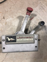 Johnson Ship-Master Remote Control Box - Independent FNR and Throttle Cables