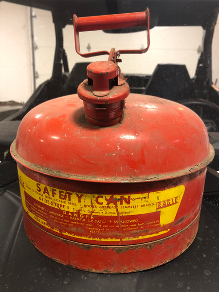 Vintage Marine Jerry Can - Spring Loaded Lid - No Leaks