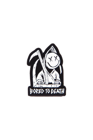 blink182 Bored to Death Pin Silver/Black