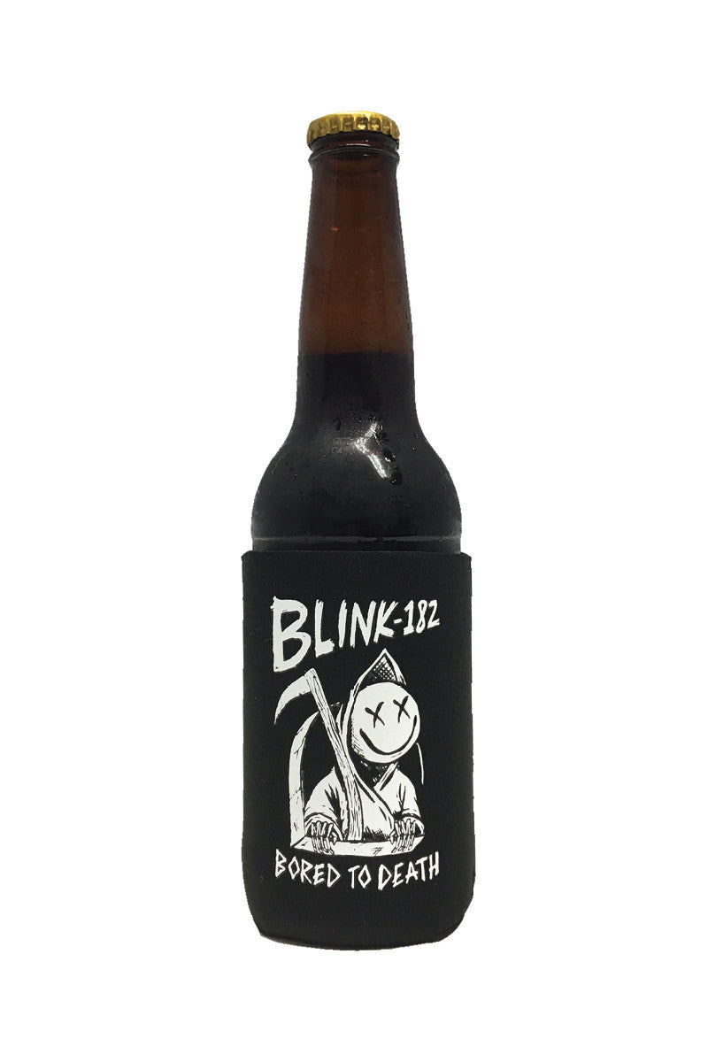 blink182 Bored to Death Coozie Black