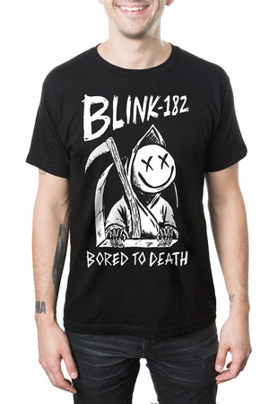 blink182 Bored to Death Tee Black