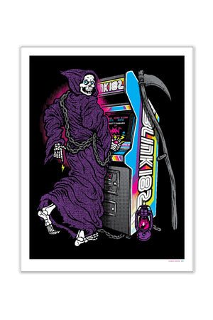 blink-182 7/11/2012 Nottingham, England Event Poster