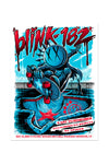 blink-182 7/31/2016 Houston, TX Event Poster