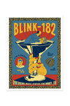 blink-182 8/10/2016 Cincinnati, OH Event Poster