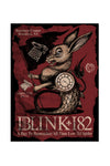 blink-182 8/17/2016 Brooklyn, NY Event Poster