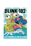 blink-182 9/4/2016 Saratoga Springs, NY Event Poster