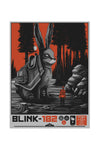 blink-182 9/13/2016 Denver, CO Event Poster