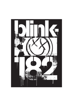 blink182 3 Bars Sticker