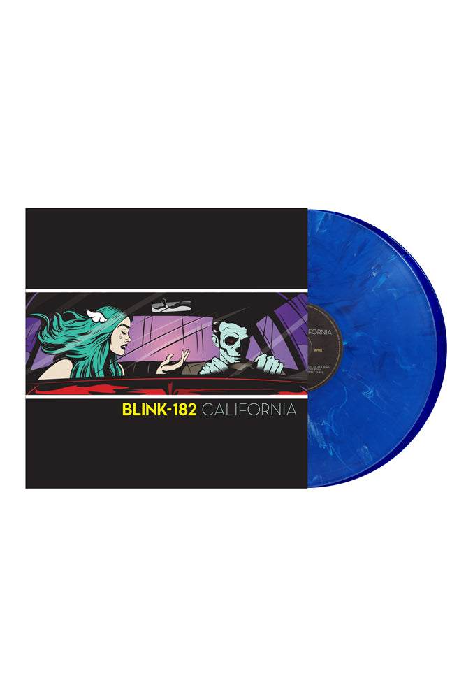 blink-182 CALIFORNIA Deluxe Pop-Up Edition - Royal Marble Double Vinyl