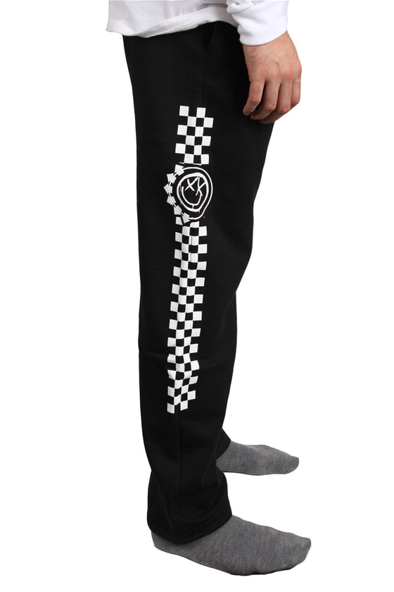 blink-182 Checkered Sweats Black