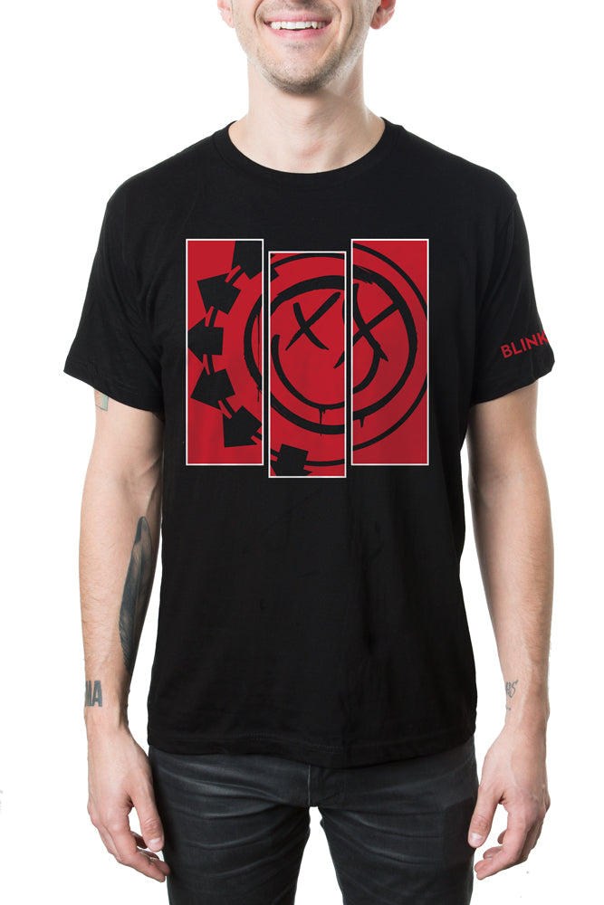 blink-182 Divide Tee Black