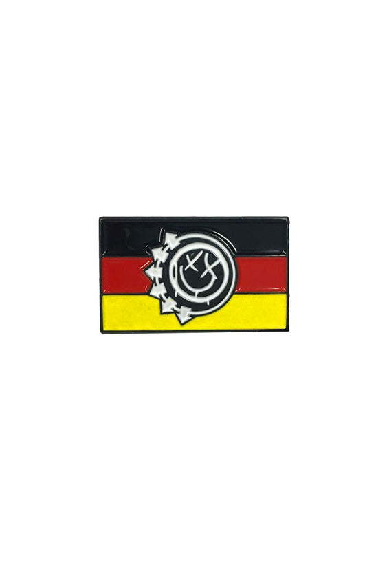 Smiling in Germany Pin