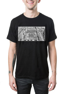 blink-182 Neighborhoods Tour Tee Black