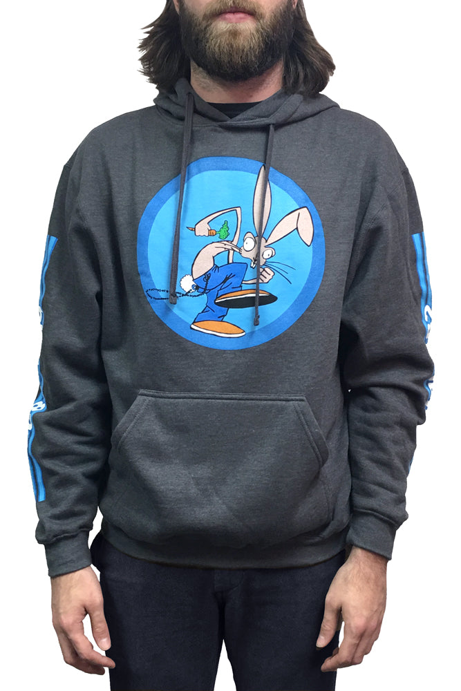 Blink182 OG Pullover Hoodie Heather Charcoal