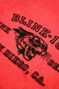 blink182 Punk Dept Tee Heather Red Tee