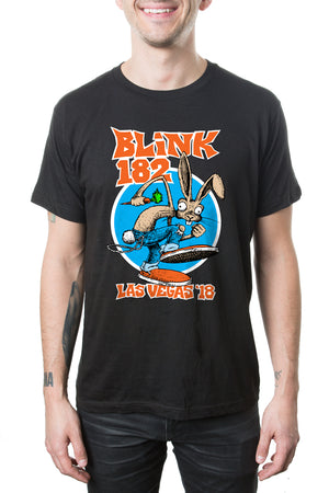 blink182 Shary Bunny Black Tee