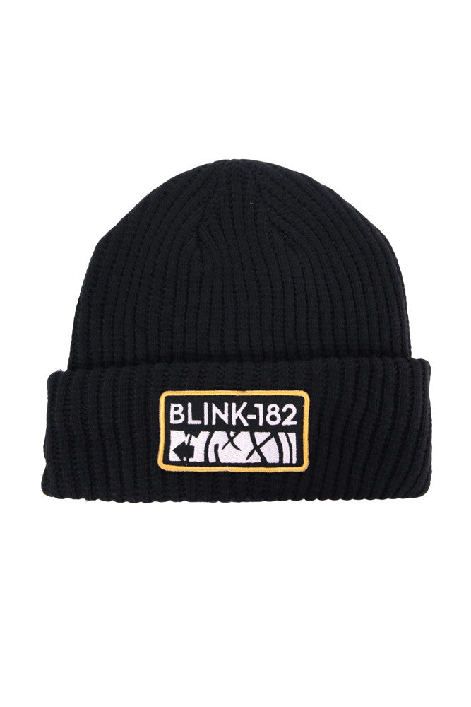 blink182-smashed-black-beanie