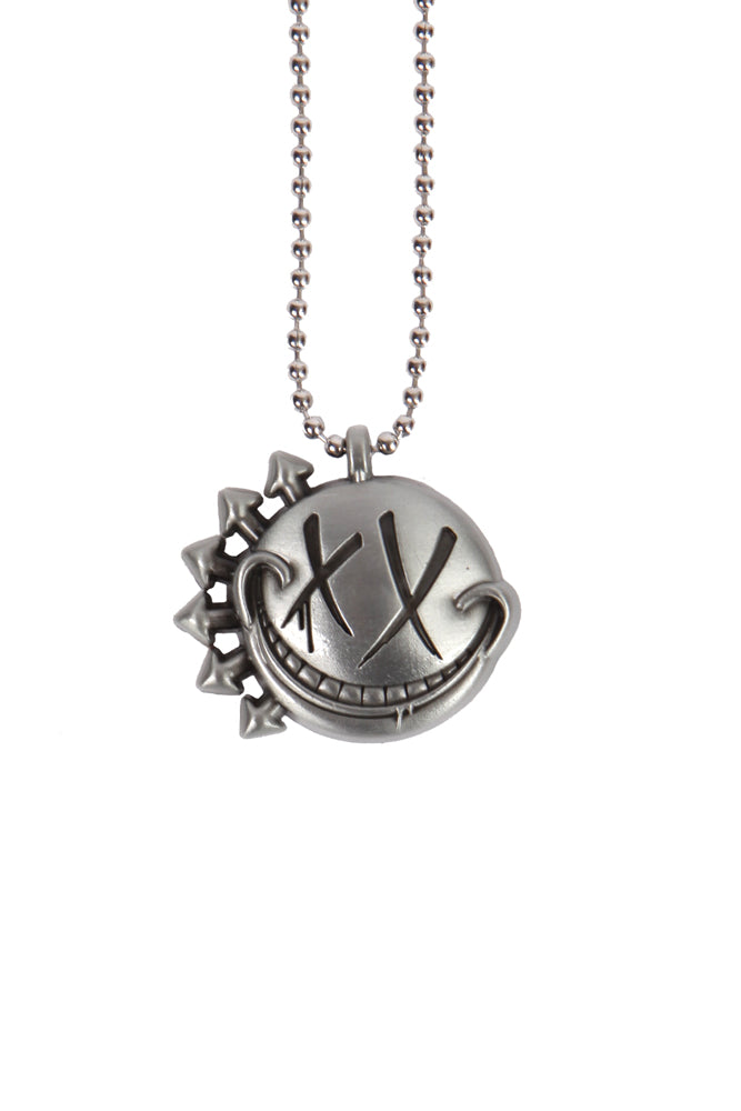Blink-182 Smiley Pendant Necklace