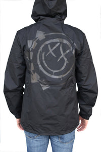 blink-182 Smiley Windbreaker Black