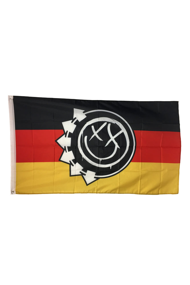 Smiling in Germany Flag