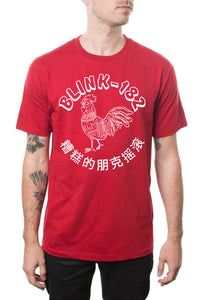 blink182 Spicy Sauce Tee Red