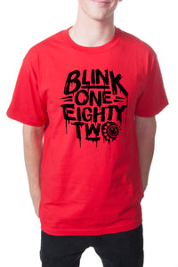 blink182 Stage 2 Tee Red