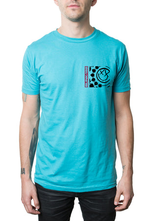 blink-182 Surf Box Tee Aqua
