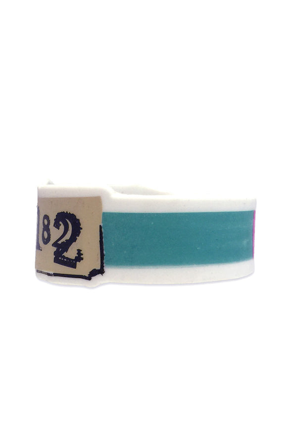 blink182 Untitled Wristband White