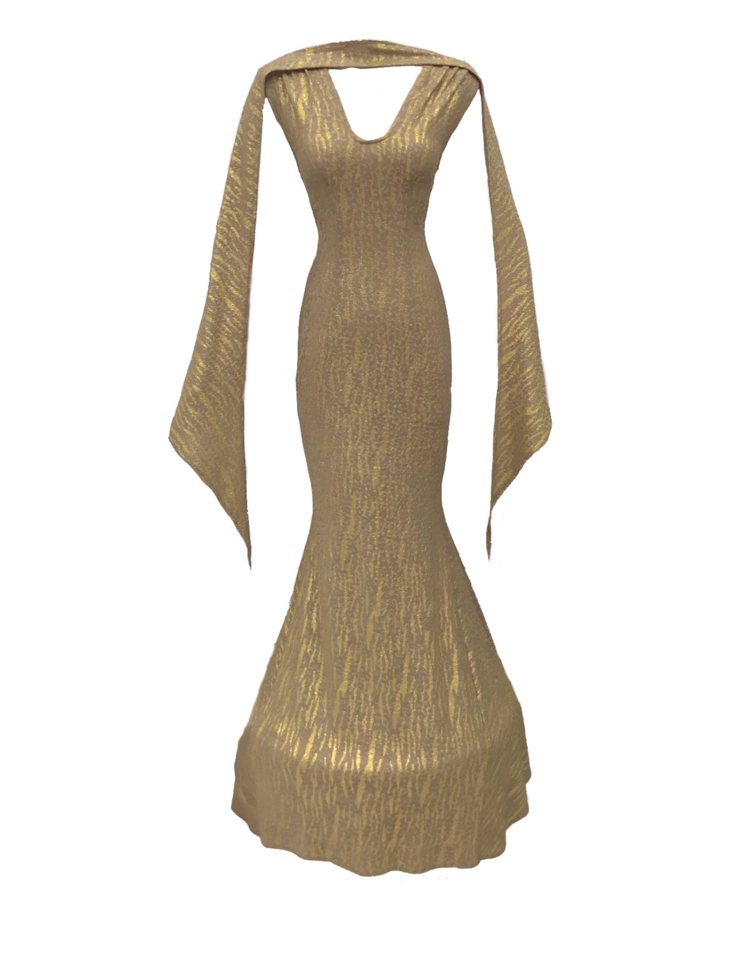 Golden Gala Gown