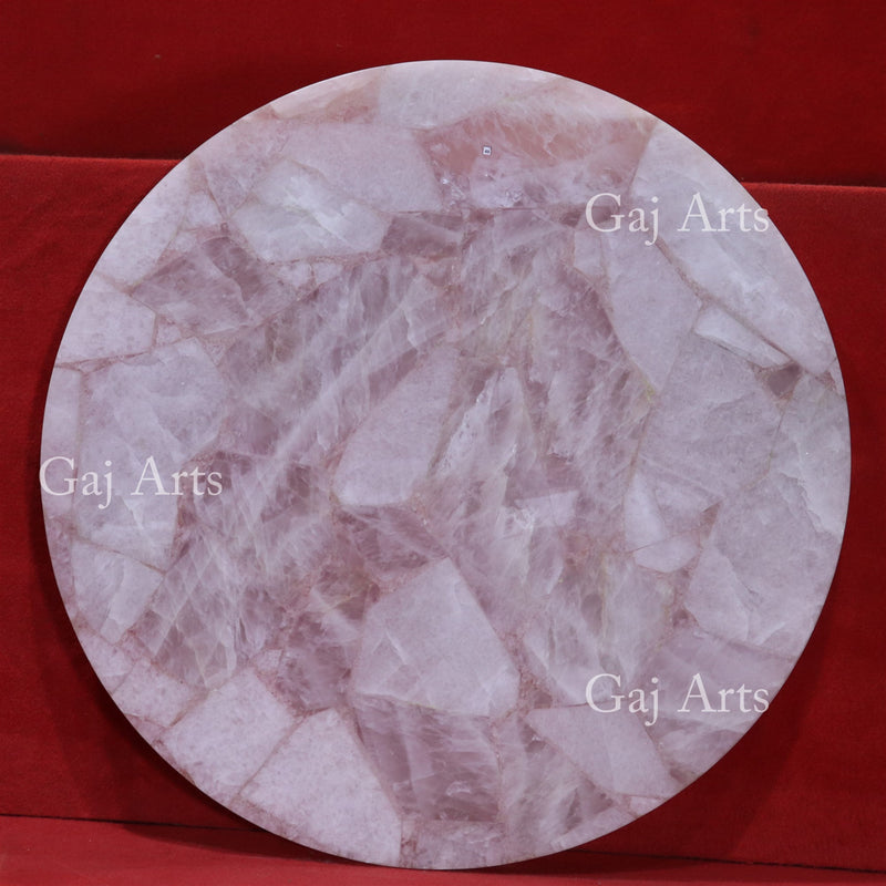 Rose Agate Table Top 48