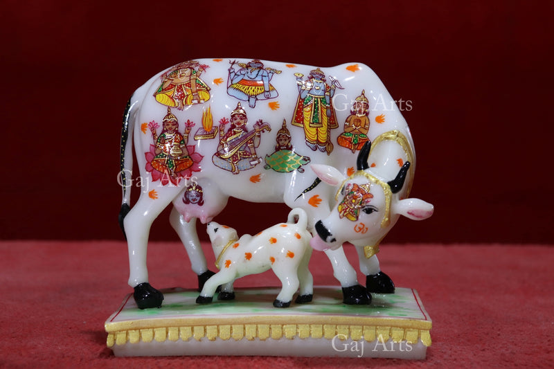 Kamdhenu cow 6""