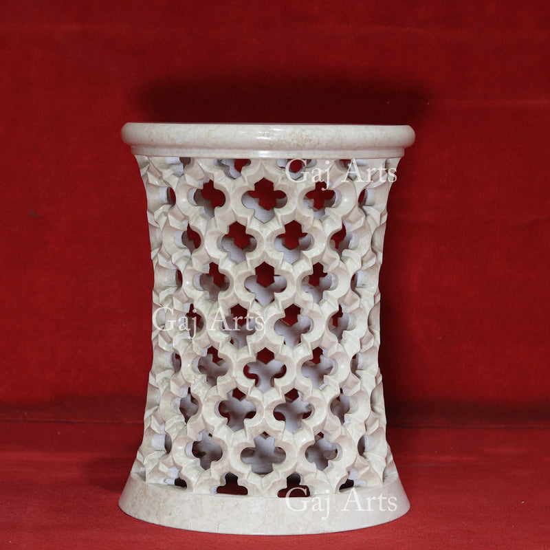 MARBLE JALI STAND 18""