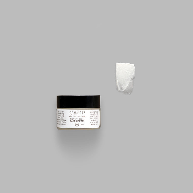CAMP Filthy Rich Face Cream | Seed to Serum