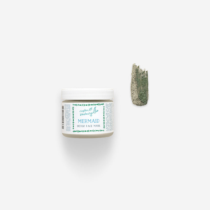 Captain Blankenship Mermaid Detox Face Mask | Seed to Serum