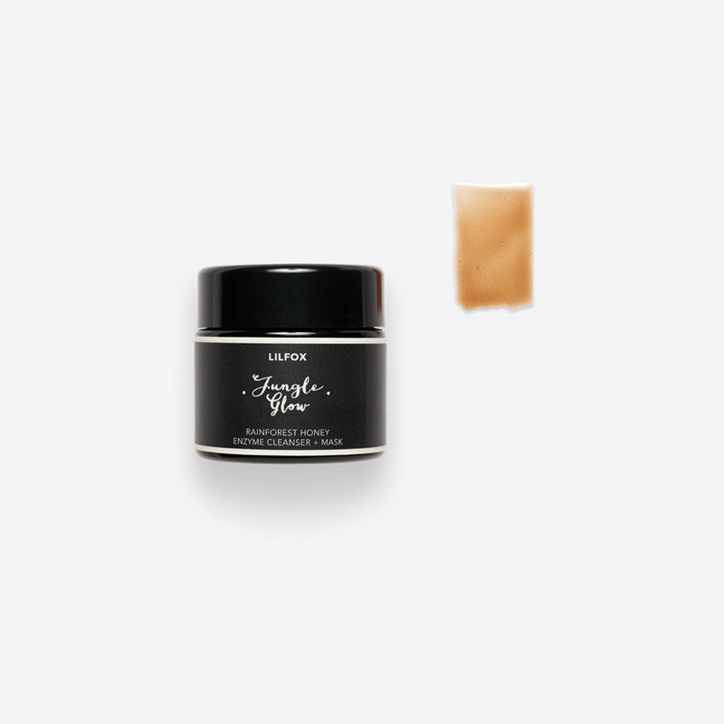 LILFOX Jungle Glow Rainforest Honey Enzyme Cleanser + Mask | Seed to Serum