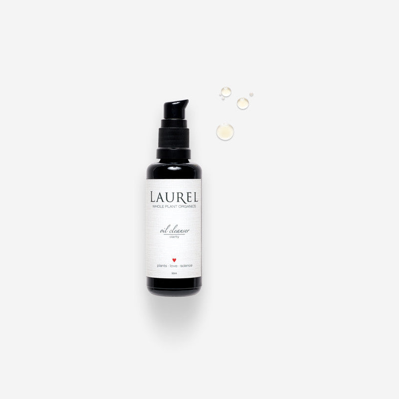 Laurel Facial Oil Cleanser : Clarity | Seed to Serum