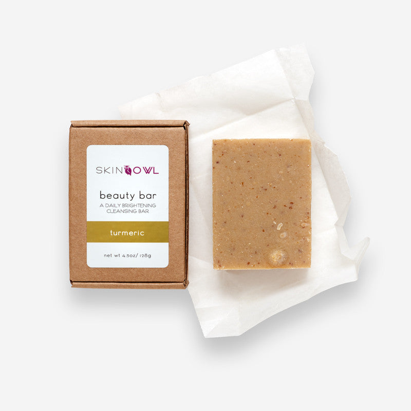 Skin Owl Turmeric Beauty Bar | Seed to Serum
