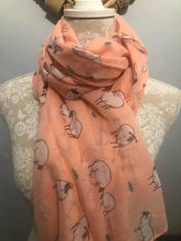 Load image into Gallery viewer, Sheep Print Scarf