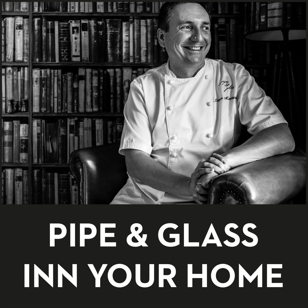 James Mackenzie ~ Pipe & Glass Inn Your Home (Collection only from Beverley)