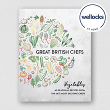 Load image into Gallery viewer, Great British Chefs: Vegetables (with Wellocks At Home voucher)
