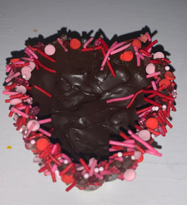 Chocolate Heart Shaped Bowls