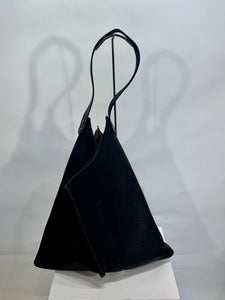 Amazing Handmade Leather Hobo Handbag Made in San Francisco- 004099