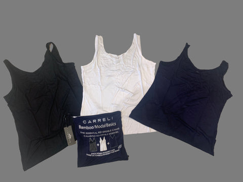 Carreli Set of Three Super Soft Tank Tops