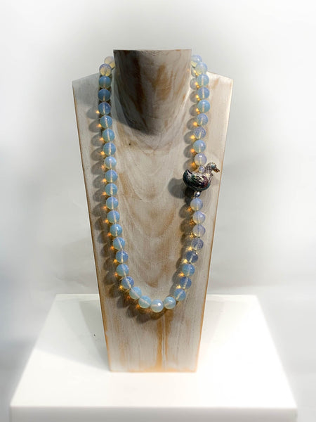 Opal-it Semi Precious One of a Kind Necklace made in California