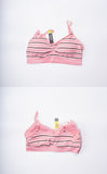 COMFORT STRIPED SCOOPNECK BRA 9095