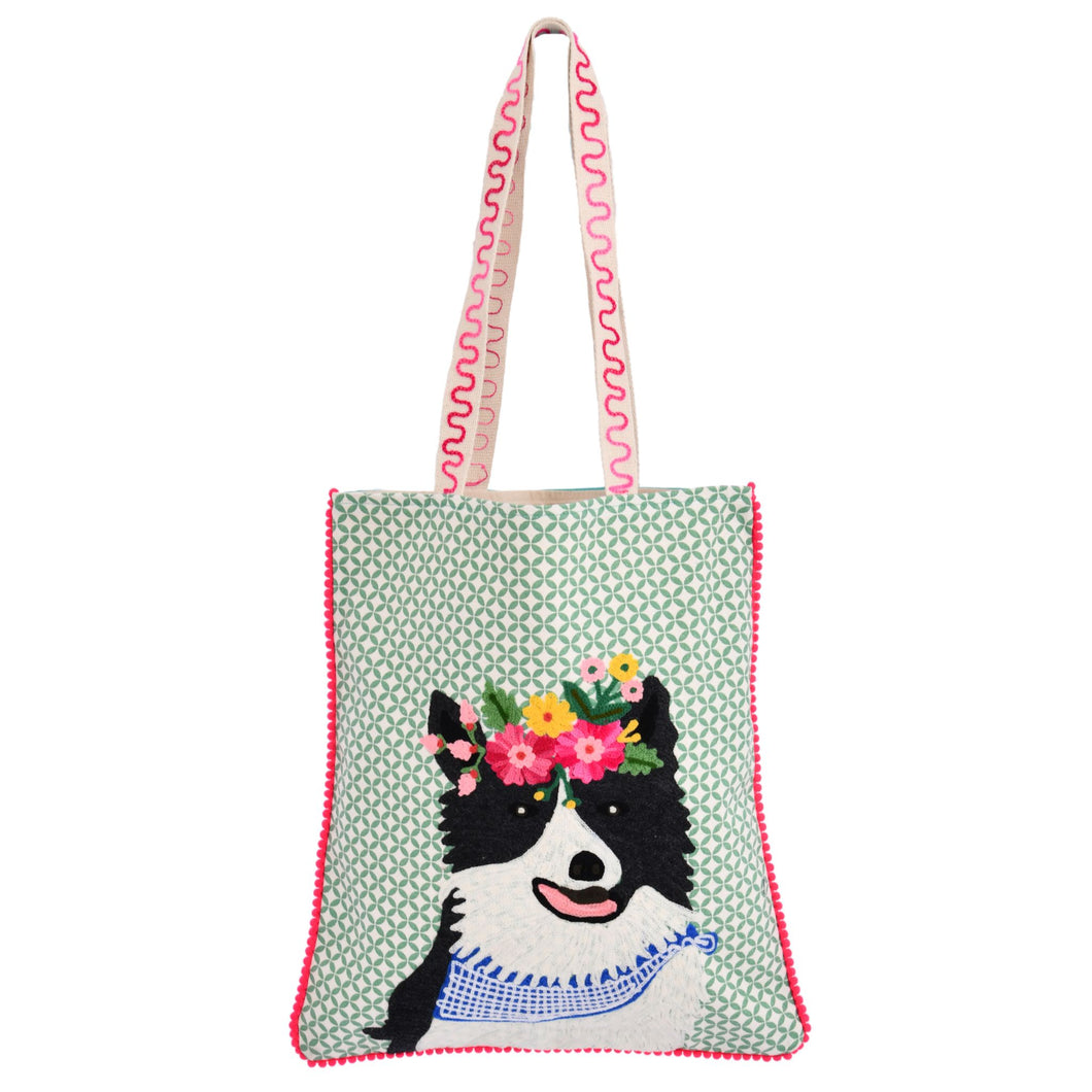 Loyal Sheep Dog Tote Bag 14