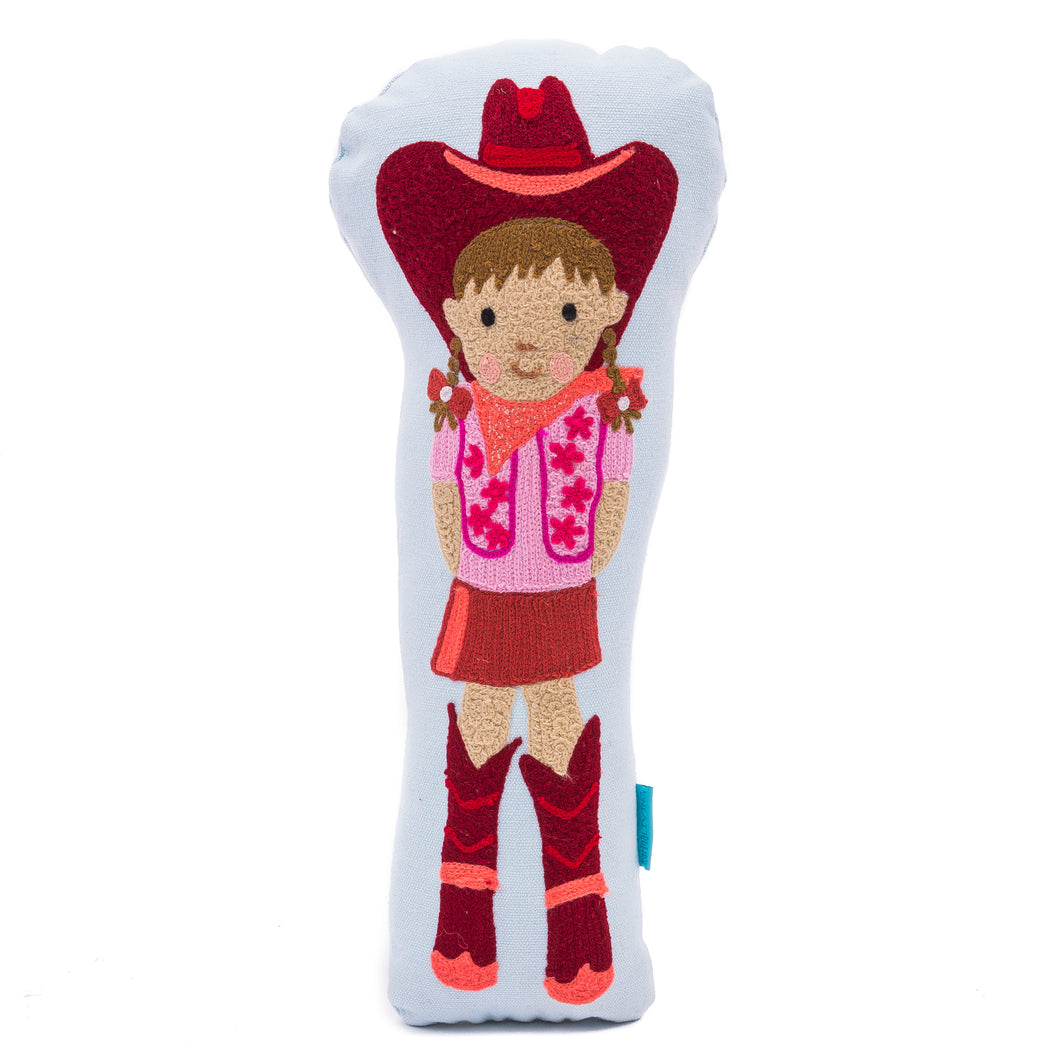 Cowgirl Doll Pillow