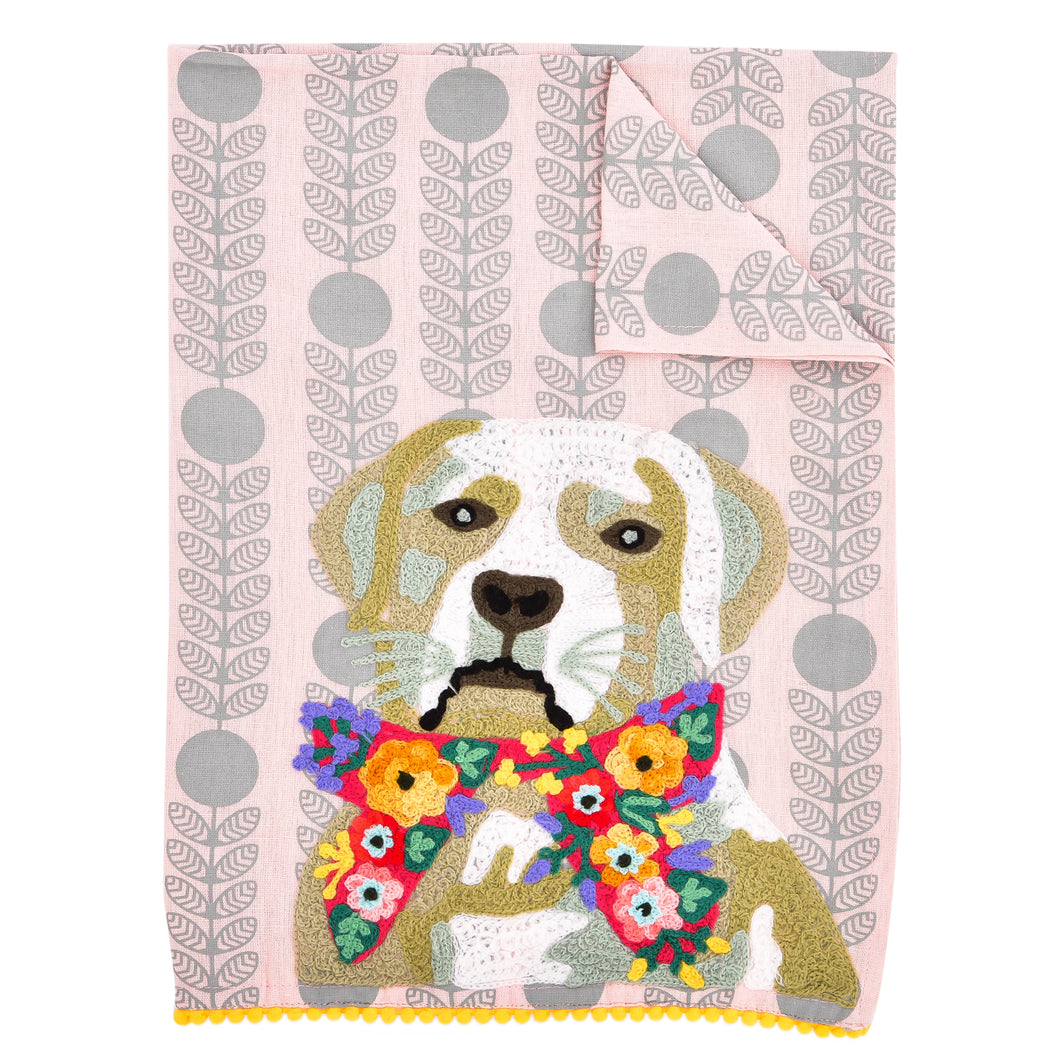 Labrador Dog Tea Towel 19